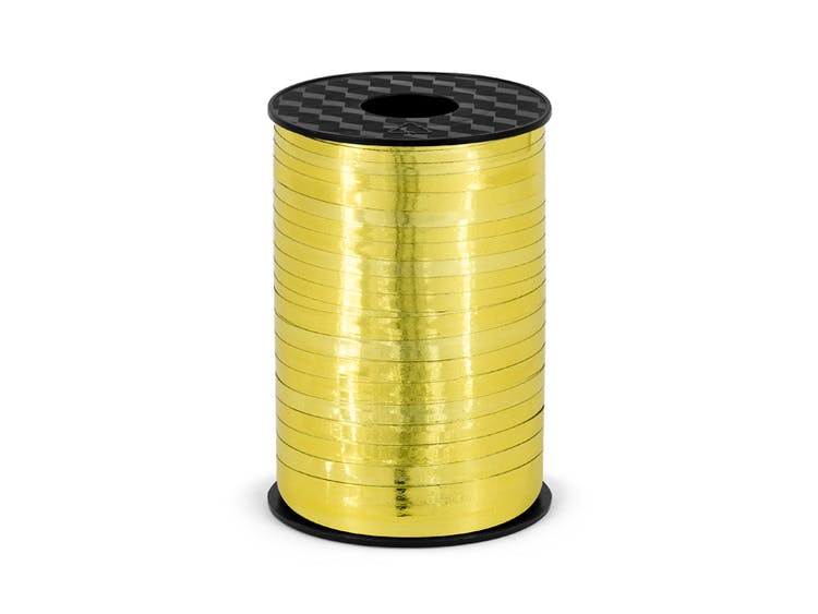 Ballongsnöre, metallic guld