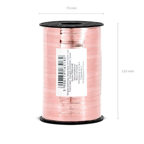 Ballongsnöre, metallic roséguld