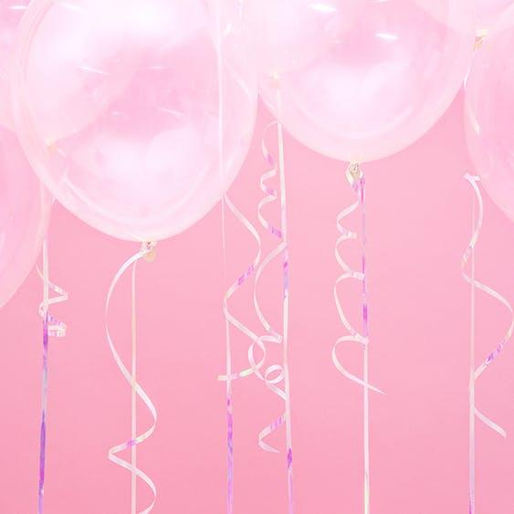 Ballongsnöre, iridescent