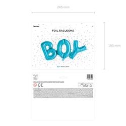 Folieballong, boy, blå