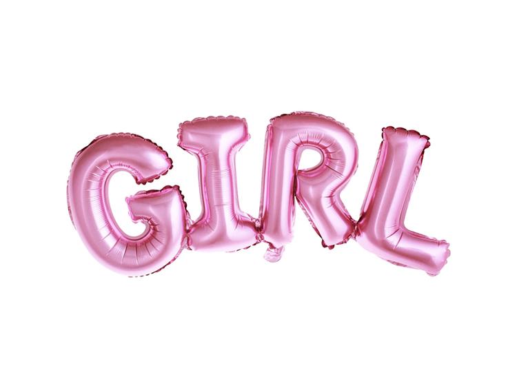Ballong Girl rosa