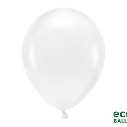 Ballong EKO, transparent, 10-pack