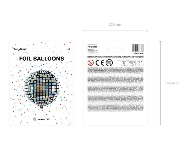 Folieballong, discokula