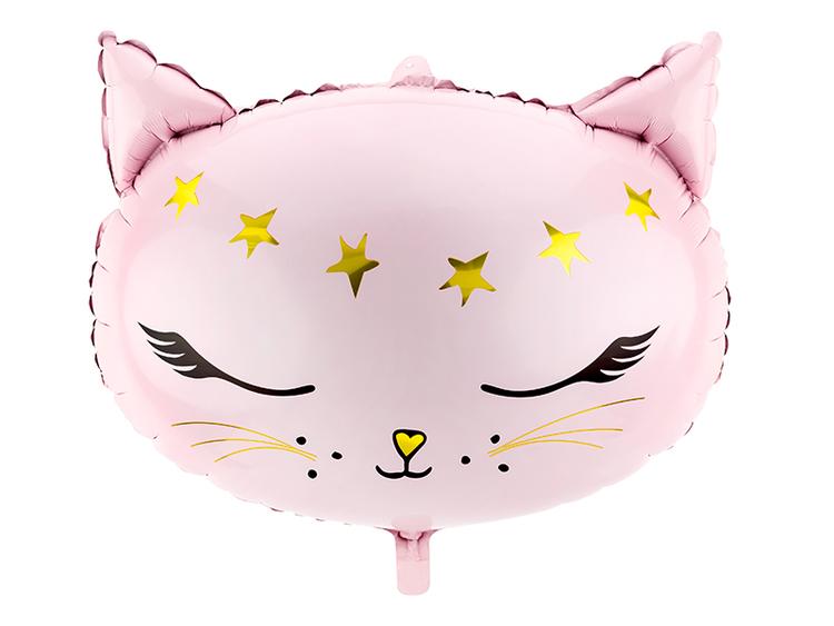 Ballong för kattkalas