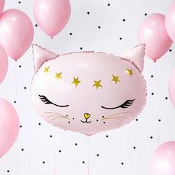 Folieballong, katt