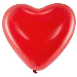 Ballong, hjärta, 6-pack