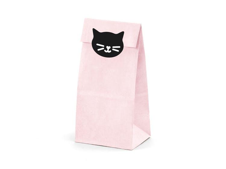 Godispåse, katt, 6-pack