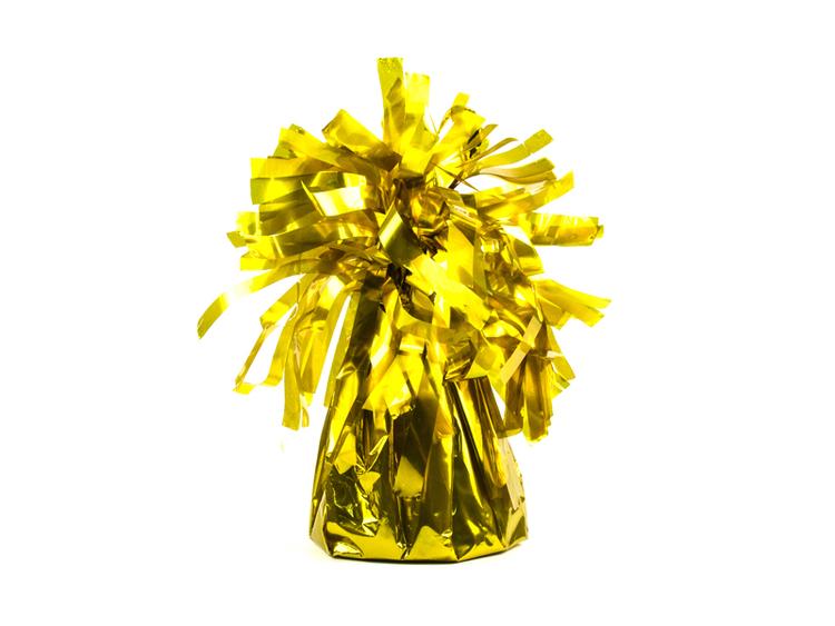 Ballongvikt, guld, 4-pack