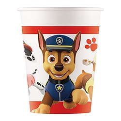 Pappmugg, Paw Patrol, 8-pack