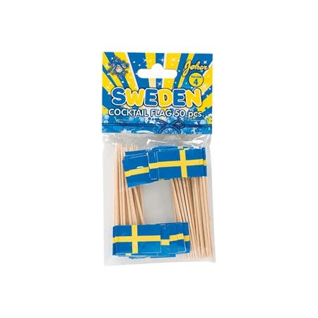 Cocktailpinnar, Sverige, 50-pack