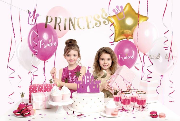 Cake picks, prinsesskrona, 6-pack