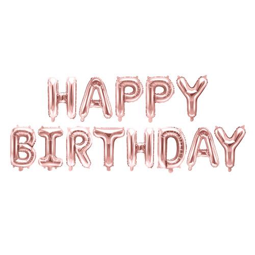 Födelsedagsballong happy birthday