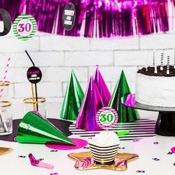 Partytuta, färgmix, 6-pack