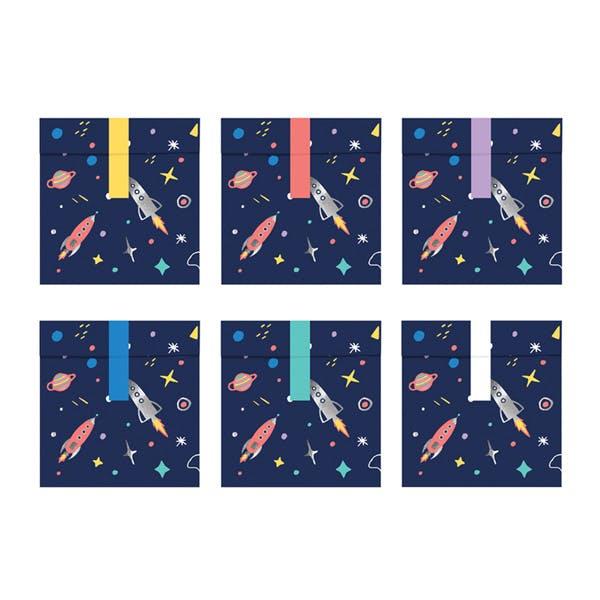 Godispåsar rymdtema