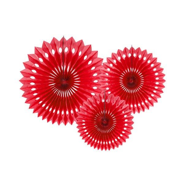 Röd Pin Wheels