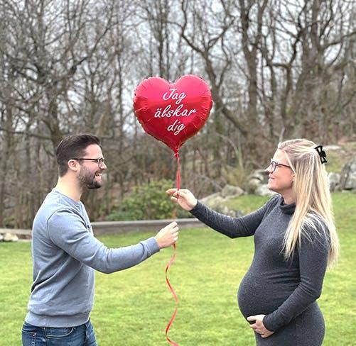 alla hjärtans dag ballong