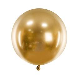 Ballong, stor, guld