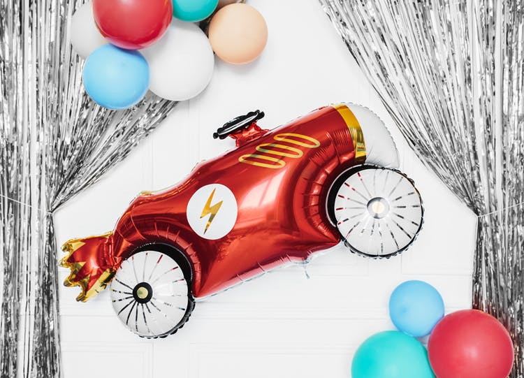 Folieballong, bil