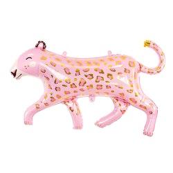 Folieballong, leopard