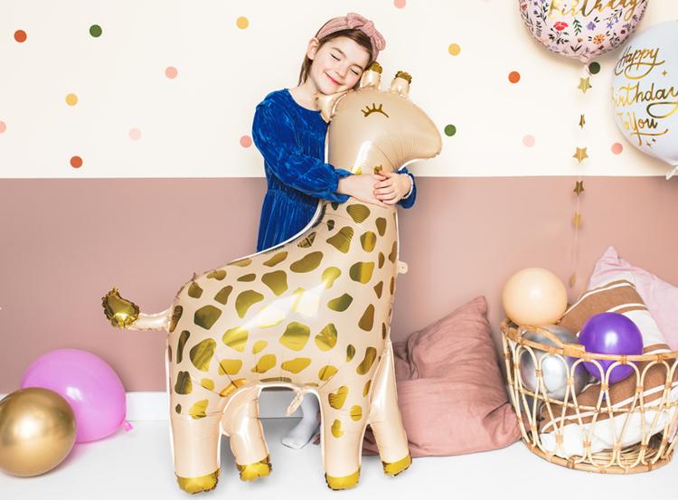 Folieballong, giraff
