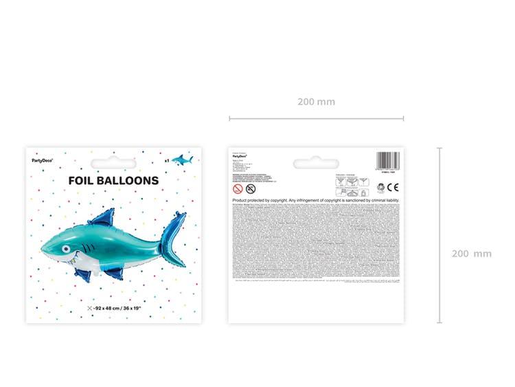Folieballong, haj