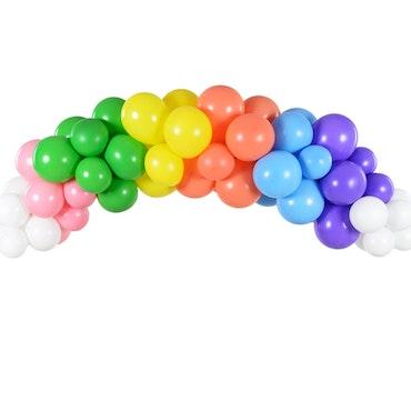 Ballongbåge, regnbåge