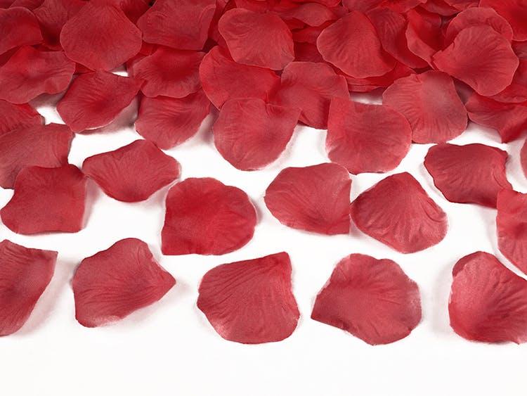 röda rosenblad
