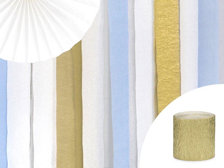 Creperulle, guld, 4-pack