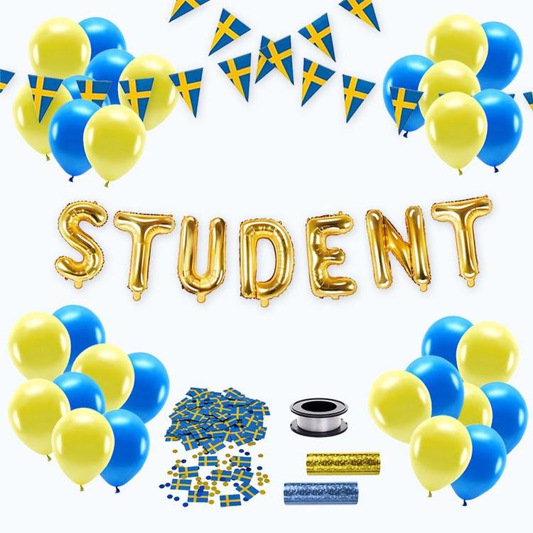 Studentdekoration, Paket Standard