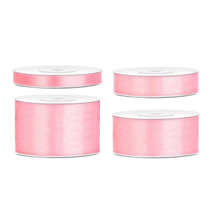 rosa satinband