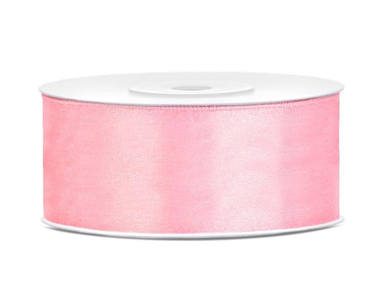 Satinband, rosa
