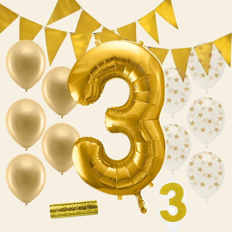 3 årskalas guld