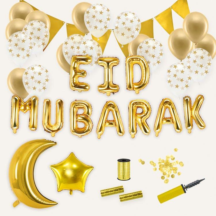 eid mubarak fest dekoration