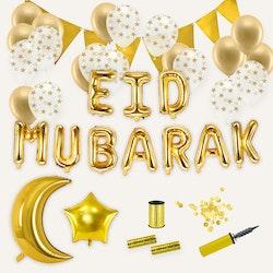 Eid Mubarak dekoration, Paket Deluxe