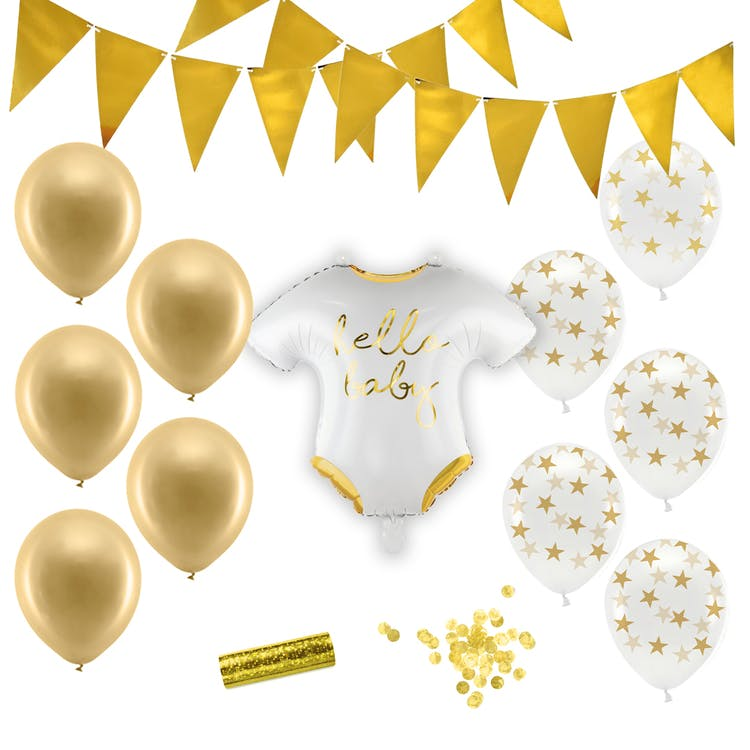 Baby Shower neutral dekoration