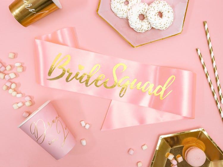 Sash, Bride Squad, Rosa