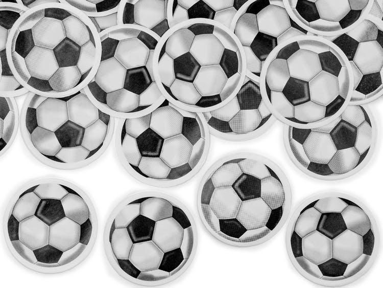 Konfettibomb, fotboll