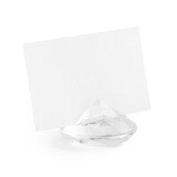 Placeringskortshållare, diamant, 10-pack