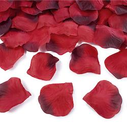 Rosenblad, storpack, vinröda