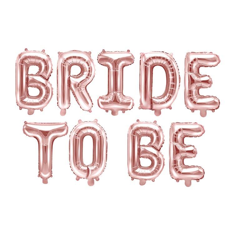 Bride to be ballong