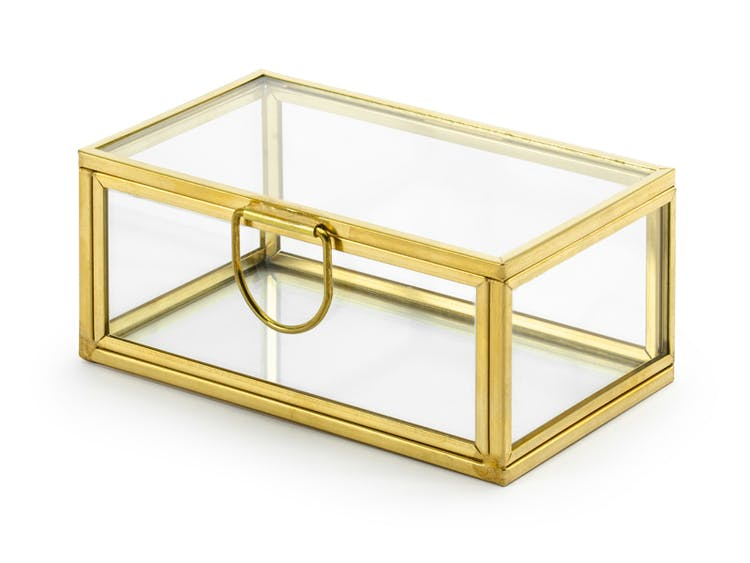 Glaslåda, Ringask, Guld