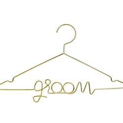 Klädhängare, Groom, Guld