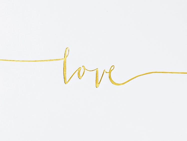 Gästbok, Love, Guld