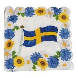 Servetter, Sverige, 16-pack