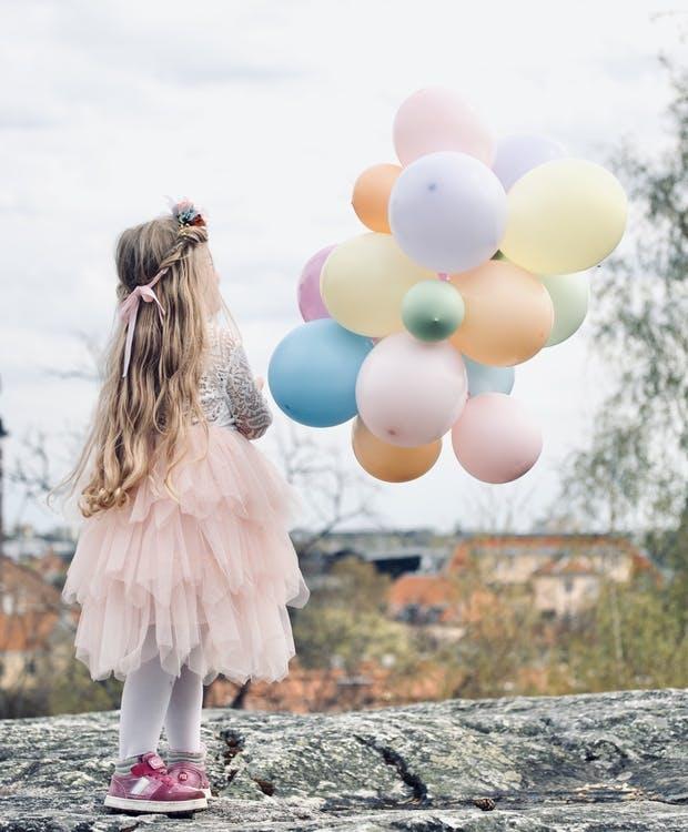 Ballong, pastell färgmix, 100-pack