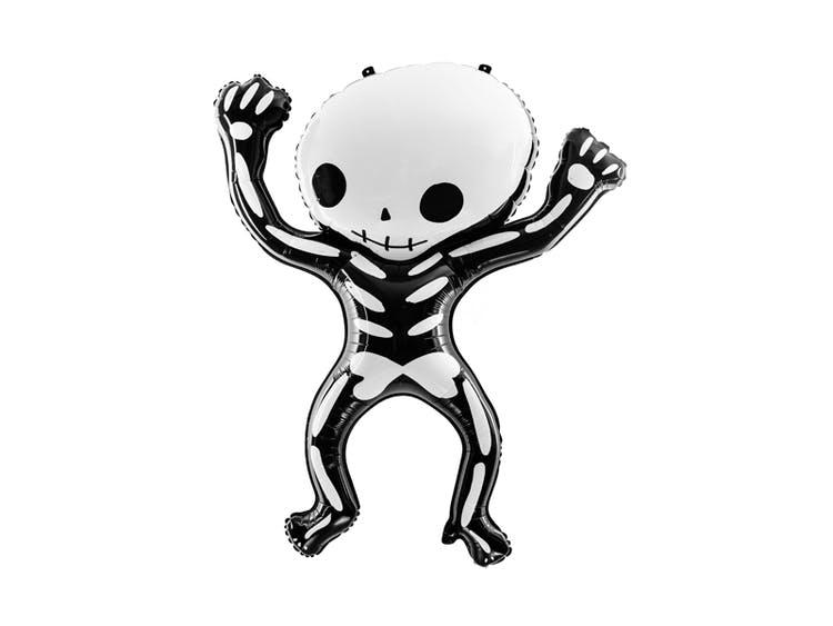 Halloween ballong skelett