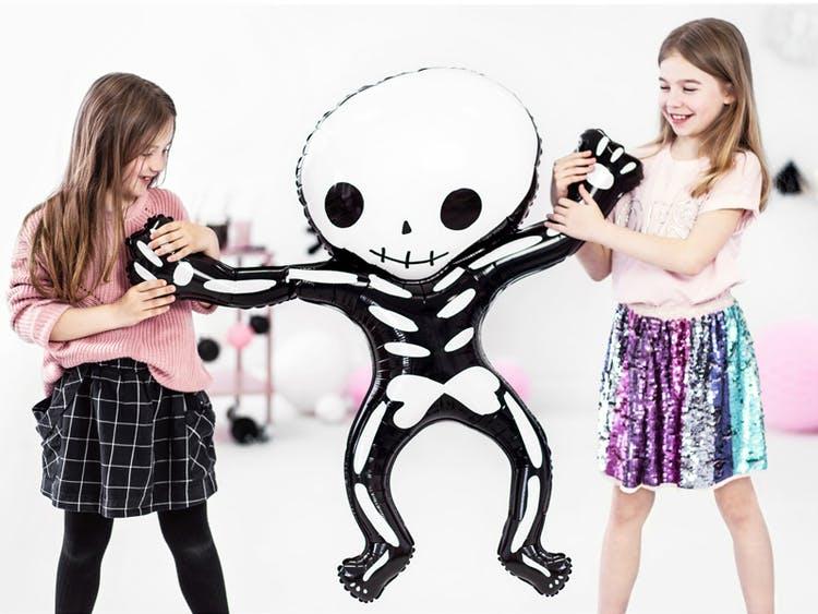 Folieballong, Halloween, Skelett