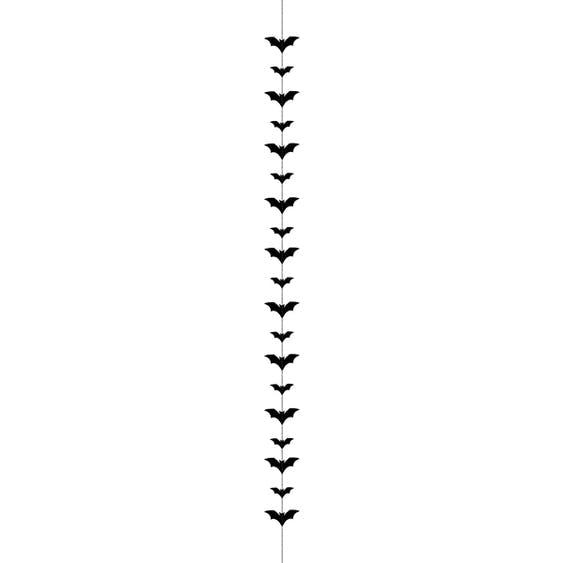Fladdermöss girlang
