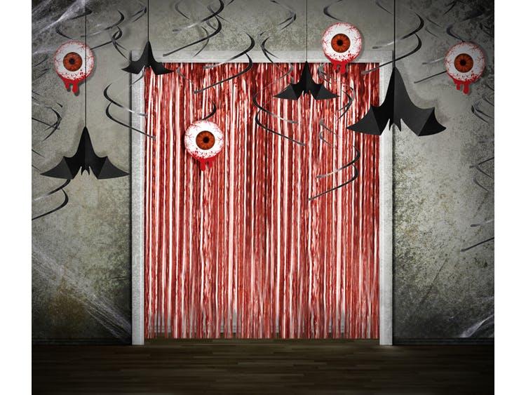 Hängande dekoration, Fladdermöss, Svarta, 3-pack