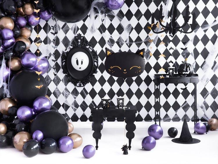 Ballong, jumbo, svart